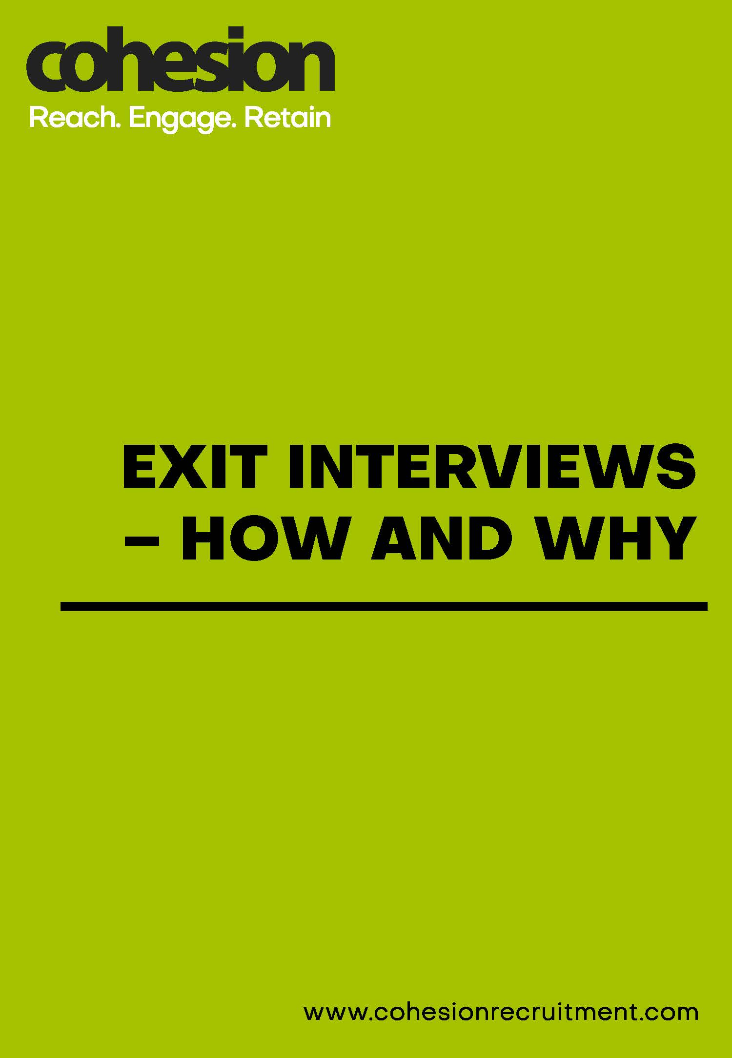 Exit Interviews – how, when and why
