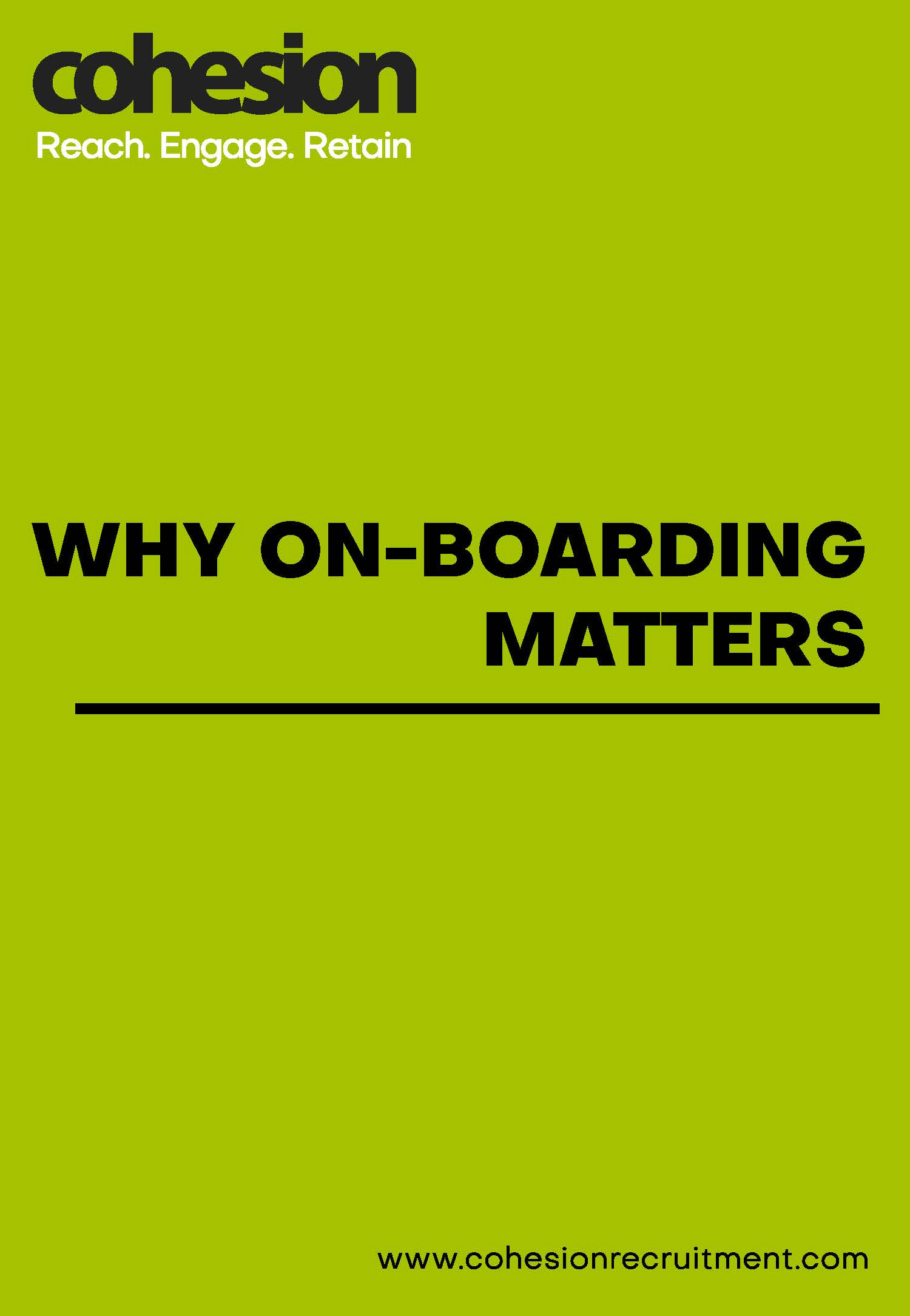 Why On-Boarding Matters