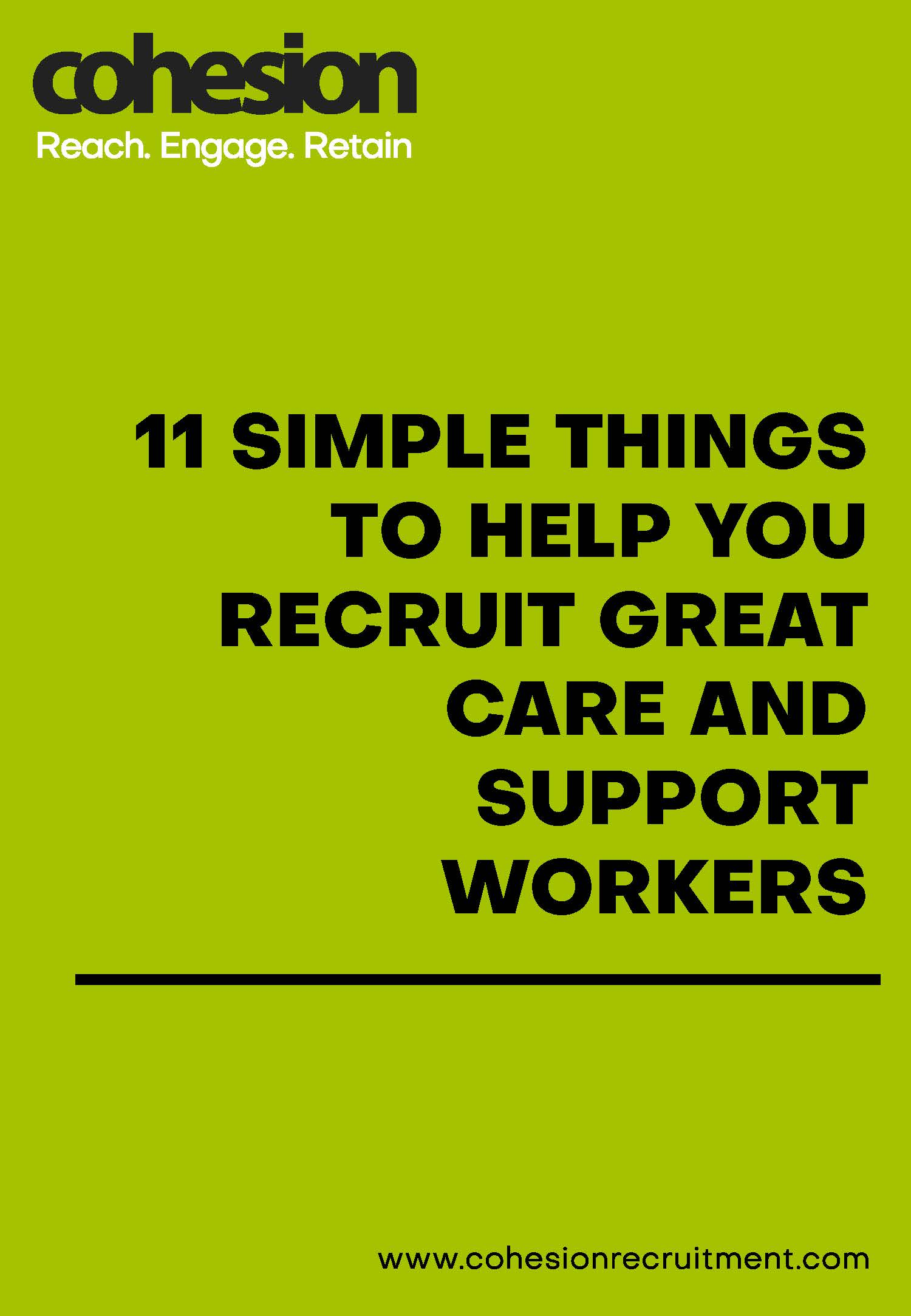 11 Ways to Recruit Great Care and Support Workers
