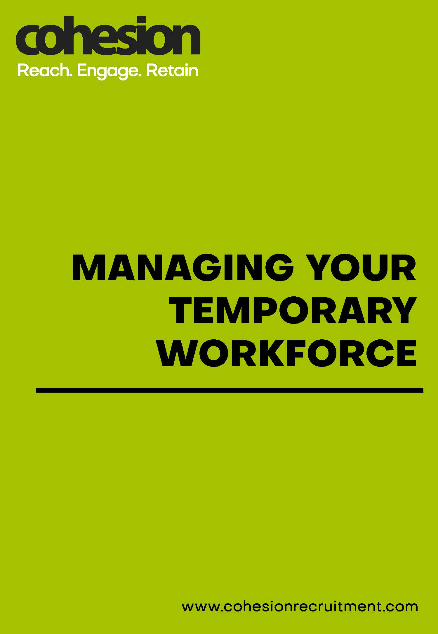 Managing your temporary workforce