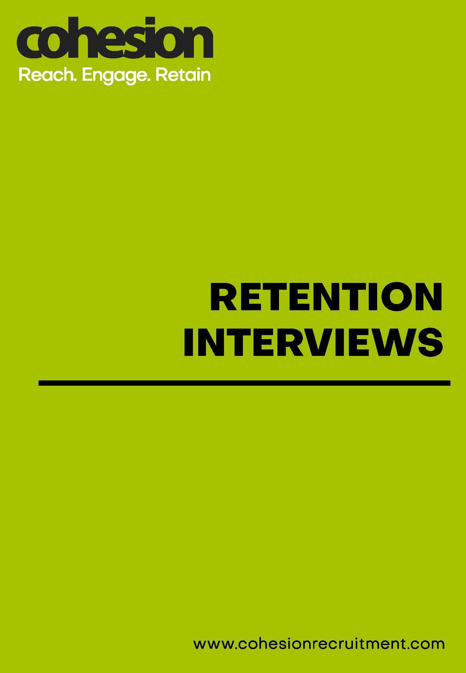 Retention Interviews