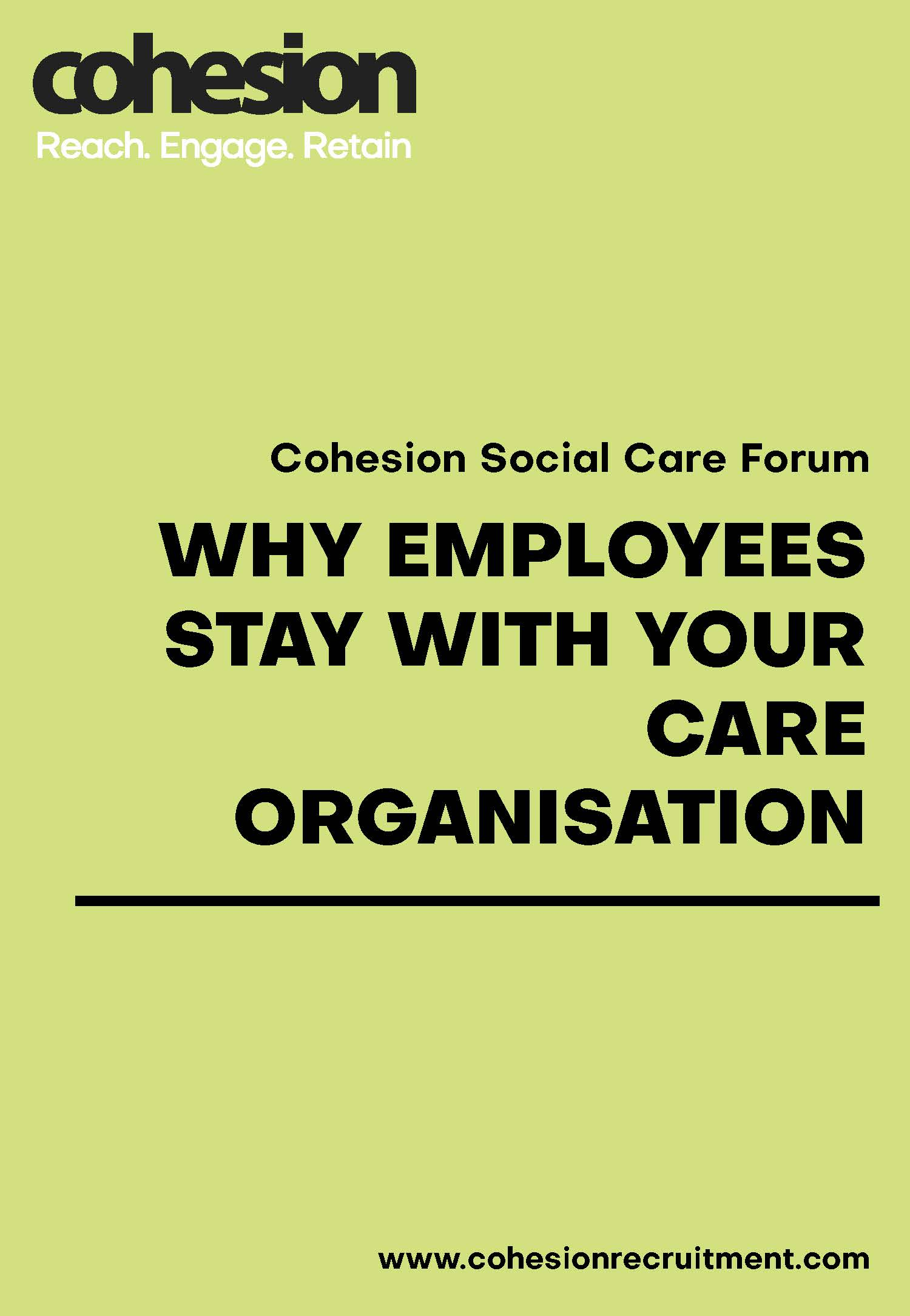 Why employees stay with your organisation